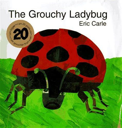 eric carle coloring pages grouchy ladybug the grouchy ladybug a favorite eric carle book can be