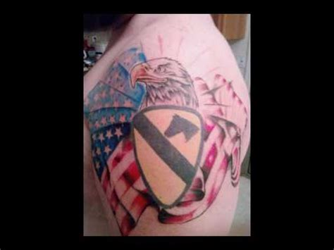 cavalry tattoo awesome country and 1st cav tattoos