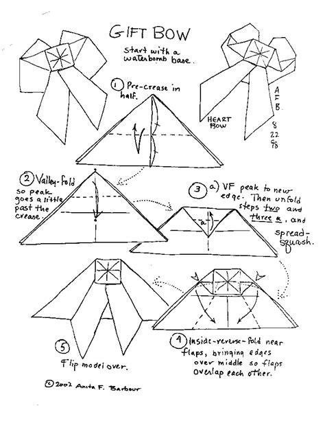 origami angel printable origami angel