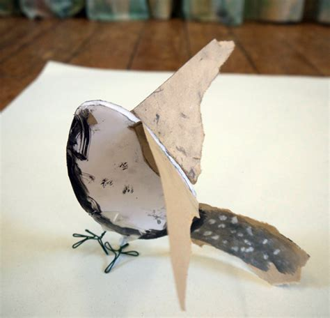 How To Make A Paper Sculpture - birds sculpture ideas for primary schools