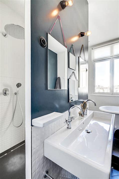Idee Salle De Bain Petit Espace 1524 by Un Appartement Haussmannien Moderne Et Design D 233 Co