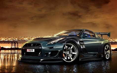modified nissan skyline r35 nissan skyline gtr r35 modified wallpaper gallery