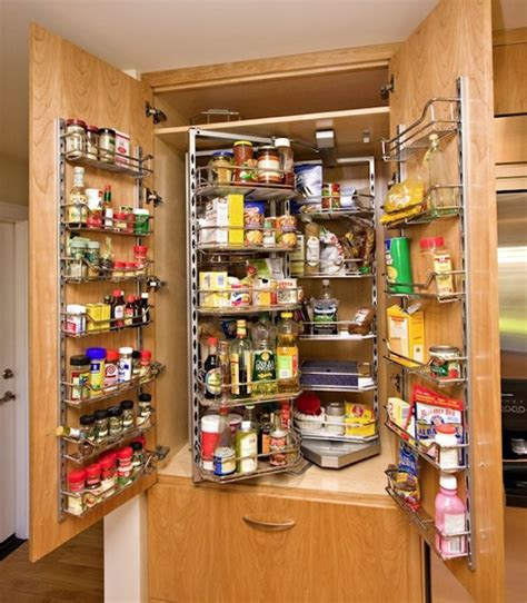 Kitchen Pantry Rack 15 Organization Ideas For Small Pantries