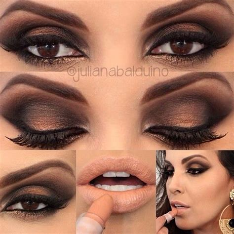 Eyeshadow For Dress classic smokey eye with pale just like that lil