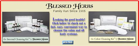 Blessed Herbs Detox Review by Colon Cleanser Product Review Blessed Herbs The Colon