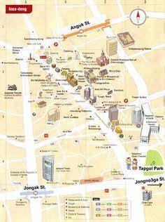 Sho Olive Korea seoul map i of visiting korea