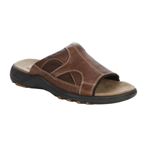 kmart mens sandals thom mcan s kohen sandals brown