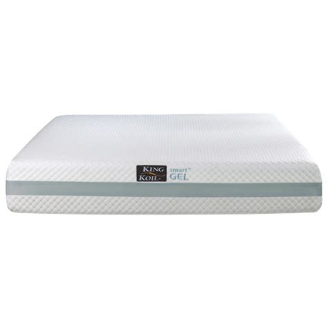 Gel Memory Foam Mattress King by King Koil 10 Quot Smart Gel Memory Foam Mattress Best Buy Toronto
