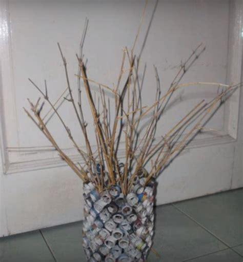 membuat vas bunga  kertas koran resep makanan