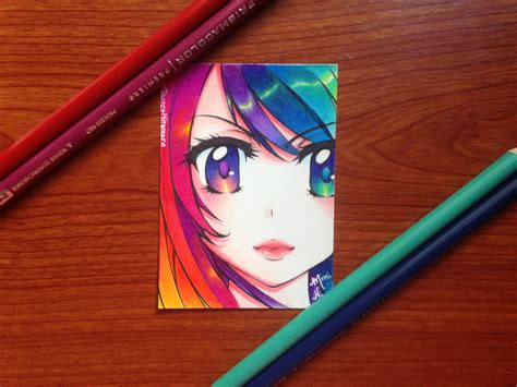 colored drawings colored pencil drawing polychromatic