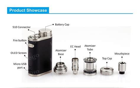 Coil Atomizer Vapor Pico By Eleaf 2016 newest eleaf istick pico 75w tc kit eleaf melo 3 mini atomizer with ijust 2 coil vs ego aio