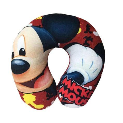 Bantal U Printing jual nicola printing laughing mickey mouse bantal leher u