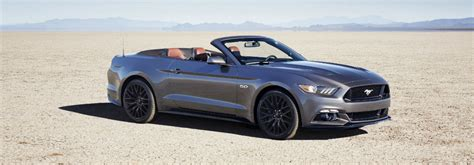 mustang packages 2017 ford mustang gt added performance packages