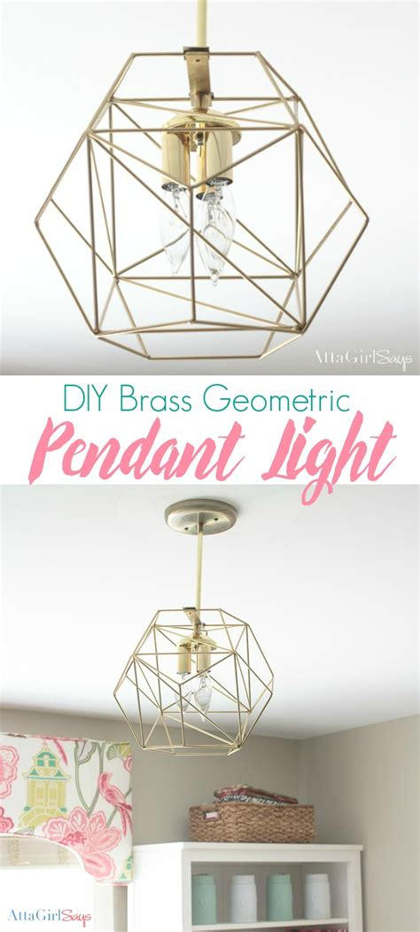 diy geometric pendant light diy geometric globe pendant light atta says