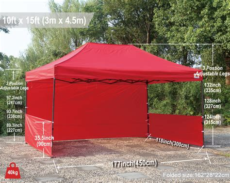 10 x 15 gazebo 10x15 abccanopy pop up canopy commercial shelter backyard