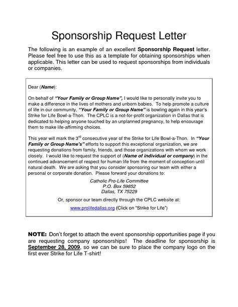event sponsorship letter template 40 sponsorship letter sponsorship