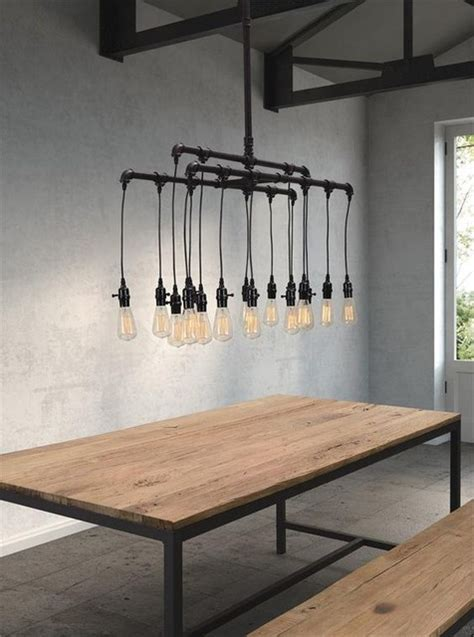 Industrial Style Lighting Industrial Dining Room By Industrial Dining Room Lighting