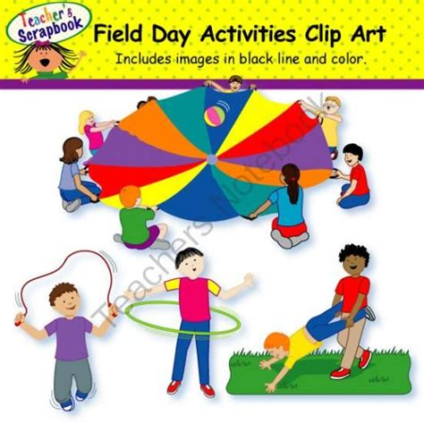 field day clip field day activities clip from teacherscrapbook on