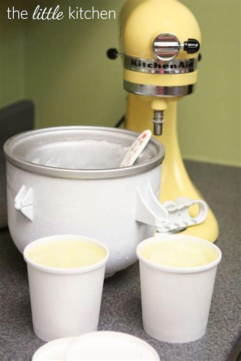 kitchenaid ice cream maker ideas  pinterest