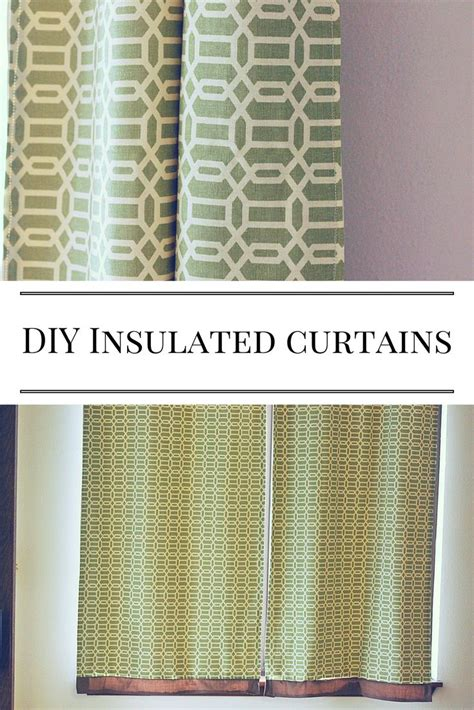 insulated curtains diy best 10 insulated curtains ideas on pinterest