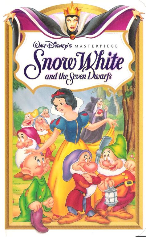 Vcd Original White opening to snow white and the seven dwarfs 1994 vhs