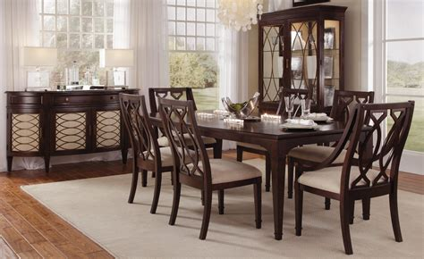 Extendable Dining Room Sets by Intrigue Rectangular Extendable Dining Room Set From