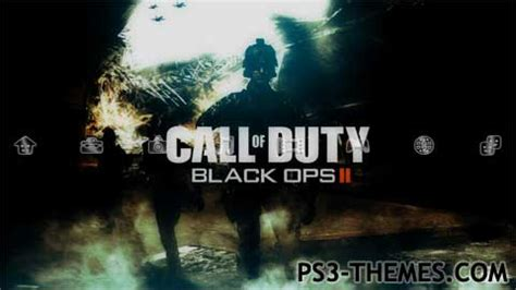 themes black ops ps3 ps3 themes 187 call of duty black ops 2 dynamic hd theme