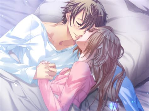 anime couple in bed ono daisuke