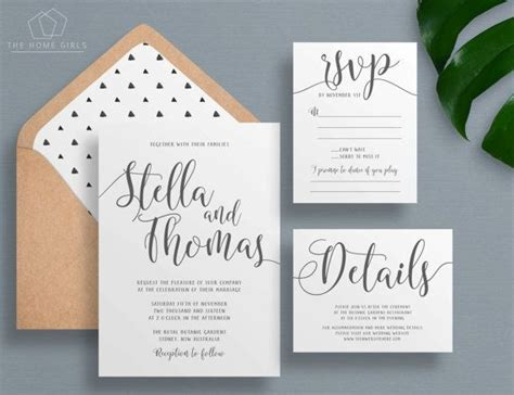 17 Best ideas about Printable Wedding Invitations on
