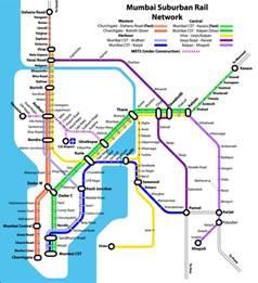 Mumbai Metro Map by Mumbai Mmts Local Train Timings Route Map Time Table