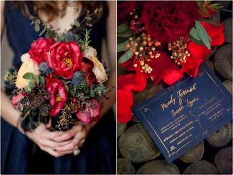 Top 10 Navy Blue Wedding Color Combo Ideas for 2018   Deer Pearl Flowers