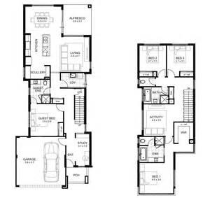 floor plans designs storey 4 bedroom house designs perth apg homes