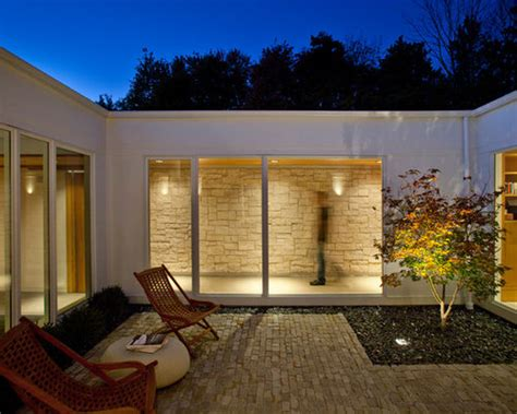 enclosed courtyard design ideas remodel pictures houzz