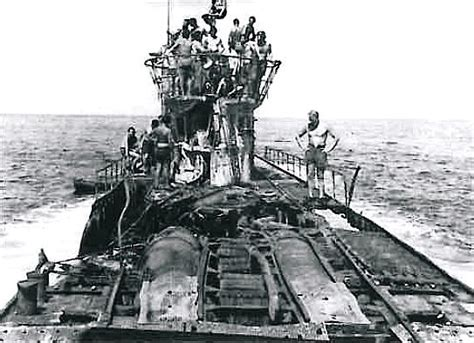 u boat depth u 505 after somehow surviving a direct hit from a 250lb
