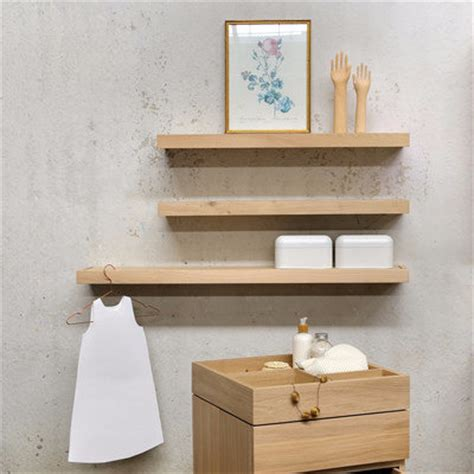 Oak Bathroom Shelves Oak Bathroom Shelves Crafted 45cm Solid Oak Slatted Bathroom Shelf Wall Mounted Shelving