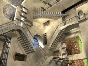 escher treppe mc escher relativity stairs by icpjuggalo1988 on deviantart