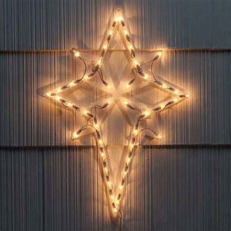 lighted nativity star of bethlehem christmas decoration