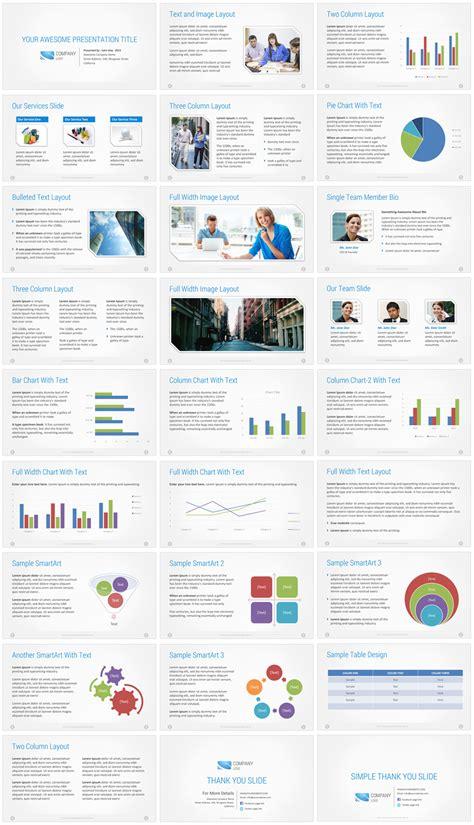 Corporate Presentation Template Free