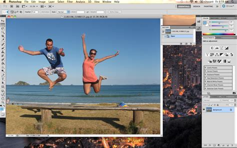 tutorial using photoshop cs5 quick tip remove a person from a photo with photoshop cs5