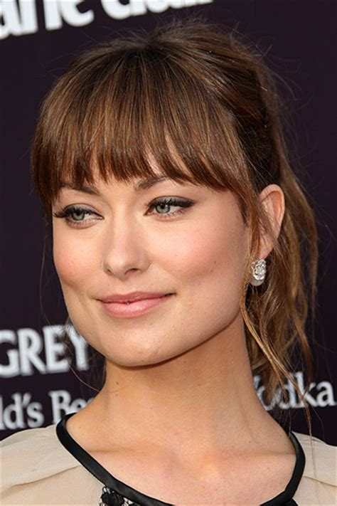 hairstyle with fringe around face how to find the most flattering bangs for your face shape