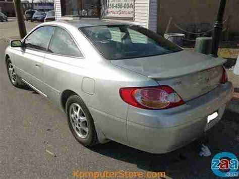Toyota Camry 4 Cylinder Mpg Buy Used 2003 Toyota Camry Solara 4 Cylinder Gas Saver 31