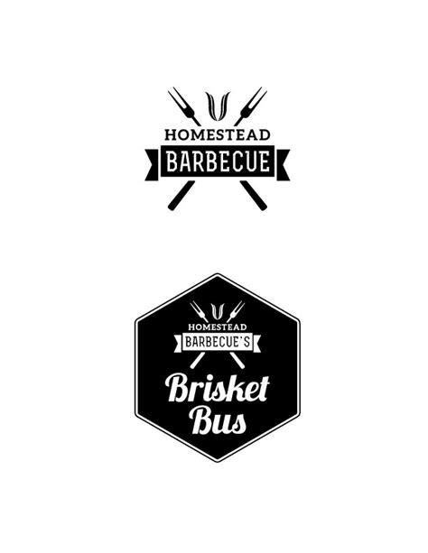 food truck logo design inspiration upmarket conservative logo design for homestead barbecue