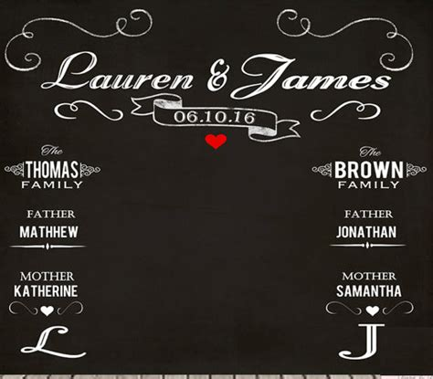 Wedding Backdrop Chalkboard by Chalkboard Wedding Backdrop Wedding Photo Backdrop