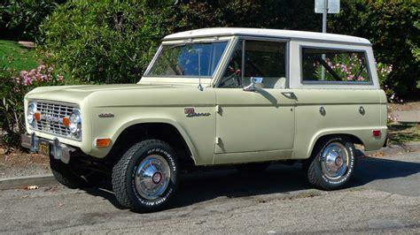 old ford 169 automotiveblogz classic ford broncos photos