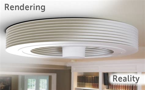 Exhale Ceiling Fan by Exhale Fans Truly Bladeless Ceiling Fan