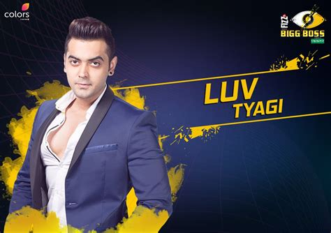 Images Of Love In Bigg Boss | luv tyagi bigg boss 11 contestant wiki biography age