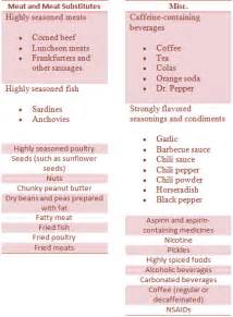 diet for ulcers do and don t