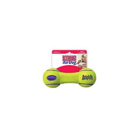 Sale Kong Dumbell S kong airdog squeaker dumbbell small
