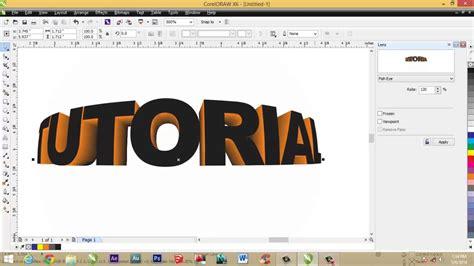 desain grafis dengan coreldraw x6 contoh desain grafis menggunakan corel draw toko fd