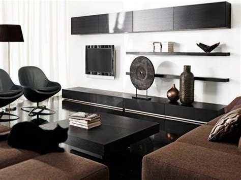 decorar salas de estar en blanco  negro se atreve